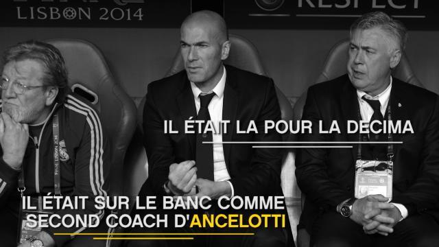 Zidane, l'Europe dans le sang