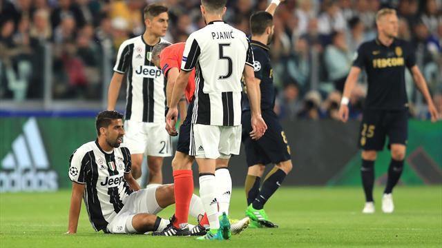 Juventus: Sami Khedira salterà la Roma ma potrebbe recuperare per la Lazio