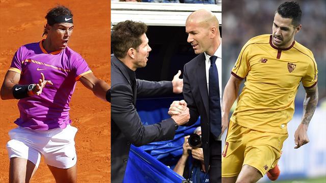 Rafa Nadal, el derbi de Champions y Vitolo, los nombres del día