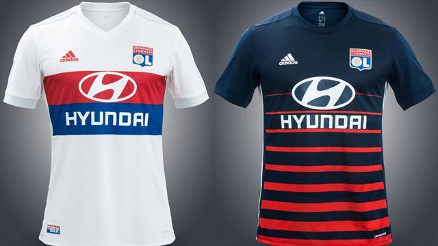 maillot entrainement Olympique Lyonnais 2018