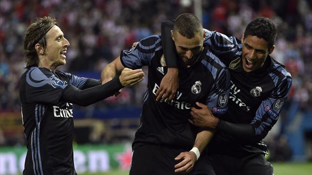Trois joueurs dans le vent dans un espace minuscule : Benzema a libéré le Real avec maestria