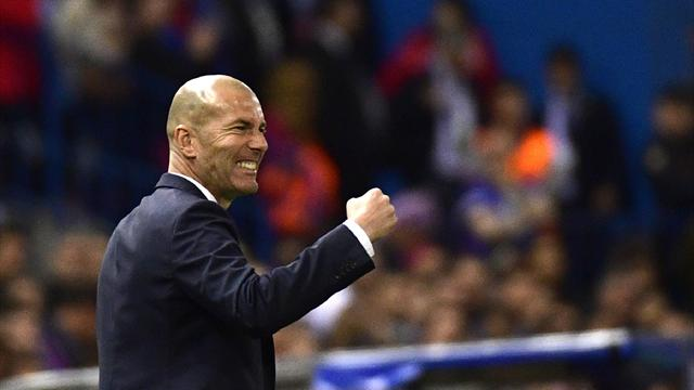 Zidane urges Madrid to focus on Celta with Spanish title on the line