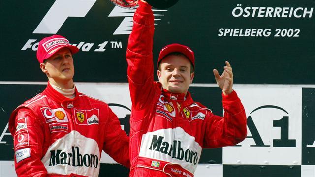 Barrichello a subi un AVC et l'ablation d'une tumeur