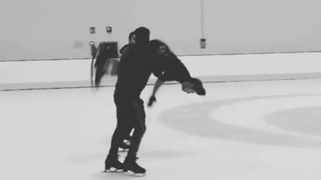Nuovi obiettivi per Ondrej Hotarek: il backflip sul ghiaccio
