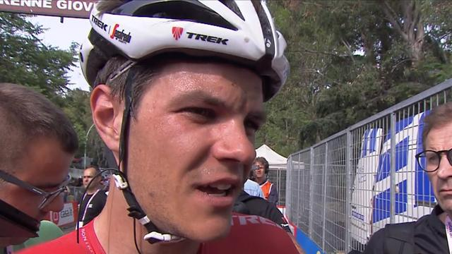 Stuyven vince l'ultima tappa, a Dumoulin la corsa