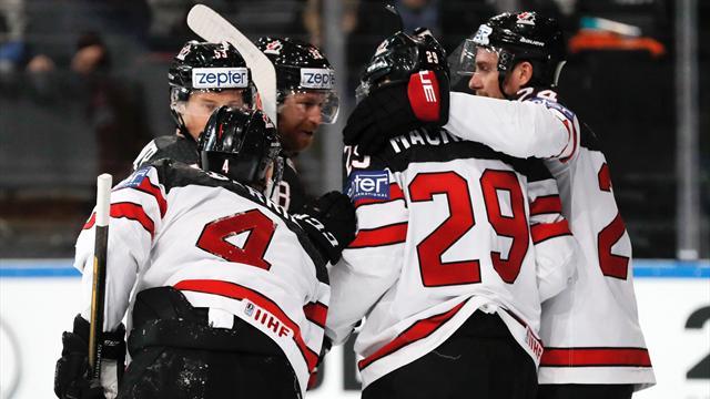 Россия проиграла Канаде в полуфинале