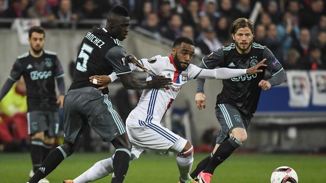 Europa League, Lyon-Ajax: Sufriendo para volver a una gran final (3-1, global 4-5)