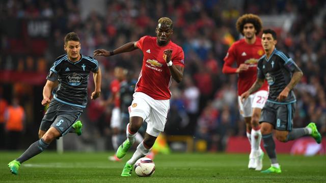 Europa League, Manchester United-Celta: Sueños rotos (1-1, global 2-1)