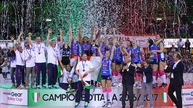 Novara campione d'Italia! 1° storico scudetto dopo 5 Finali perse, Modena si arrende