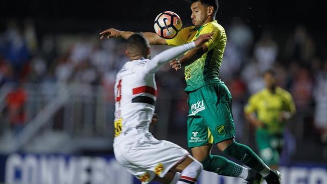 El Sao Paulo de Christian Cueva fue eliminado de la Sudamericana