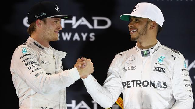 """Hamilton über Rosberg: """"Wir waren nie Freunde!"""""""