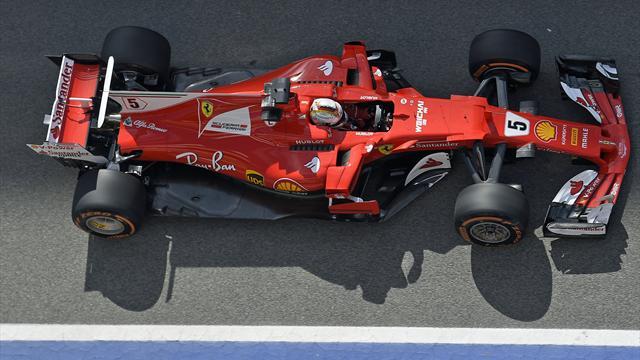 Probleme bei Vettel - Mercedes dominiert Auftakt