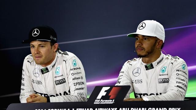 Heureux de sa relation avec Bottas, Hamilton en profite pour tacler Rosberg