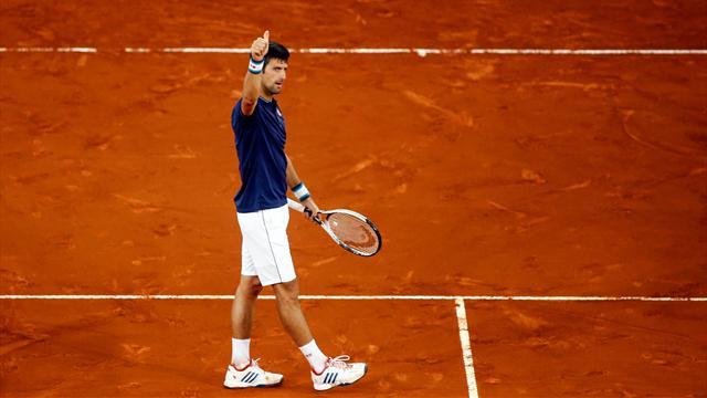 Djokovic n'avait plus de temps à perdre