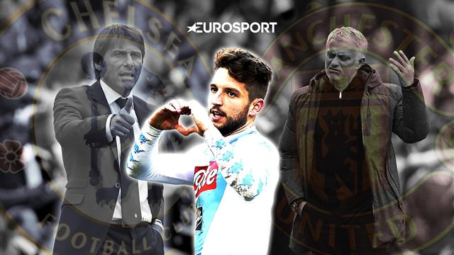 Euro Papers: United rage as Chelsea close in on Mertens