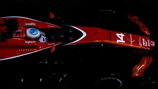 Sainz y Alonso, en el Top 10 antes de la clasificación