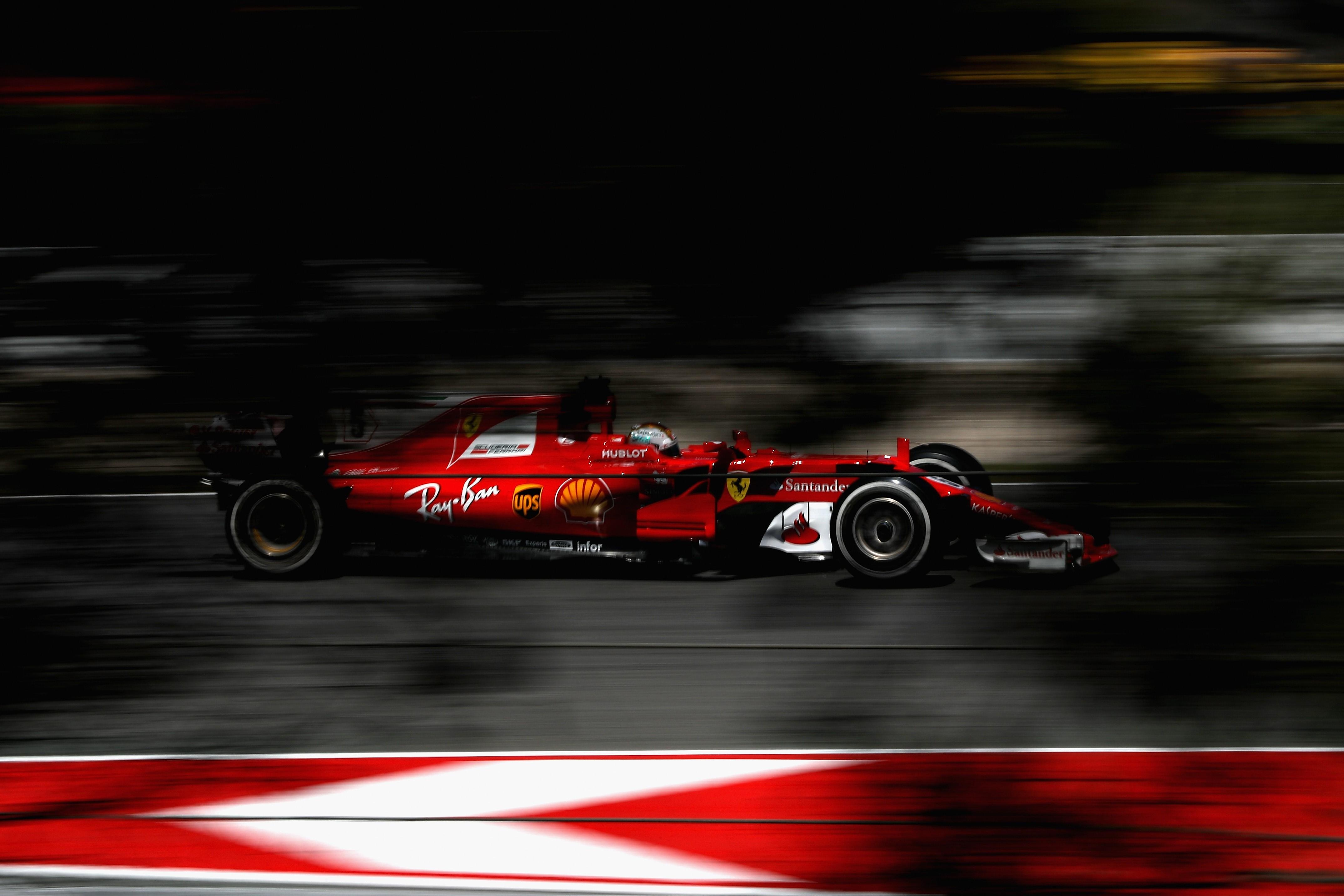 Sebastian Vettel (Ferrari) au Grand Prix d'Espagne 2017