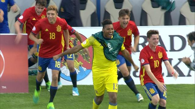 U17 Championship: Spain see off France to reach last four