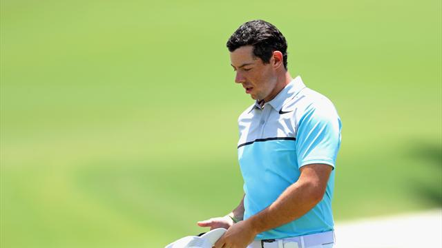 Day done, McIlroy also likely to miss U.S. Open cut