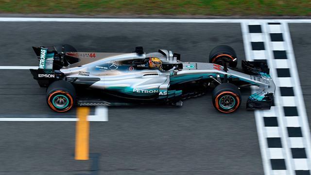 Hamilton a eu chaud, Vettel n'était pas loin de lui voler la vedette