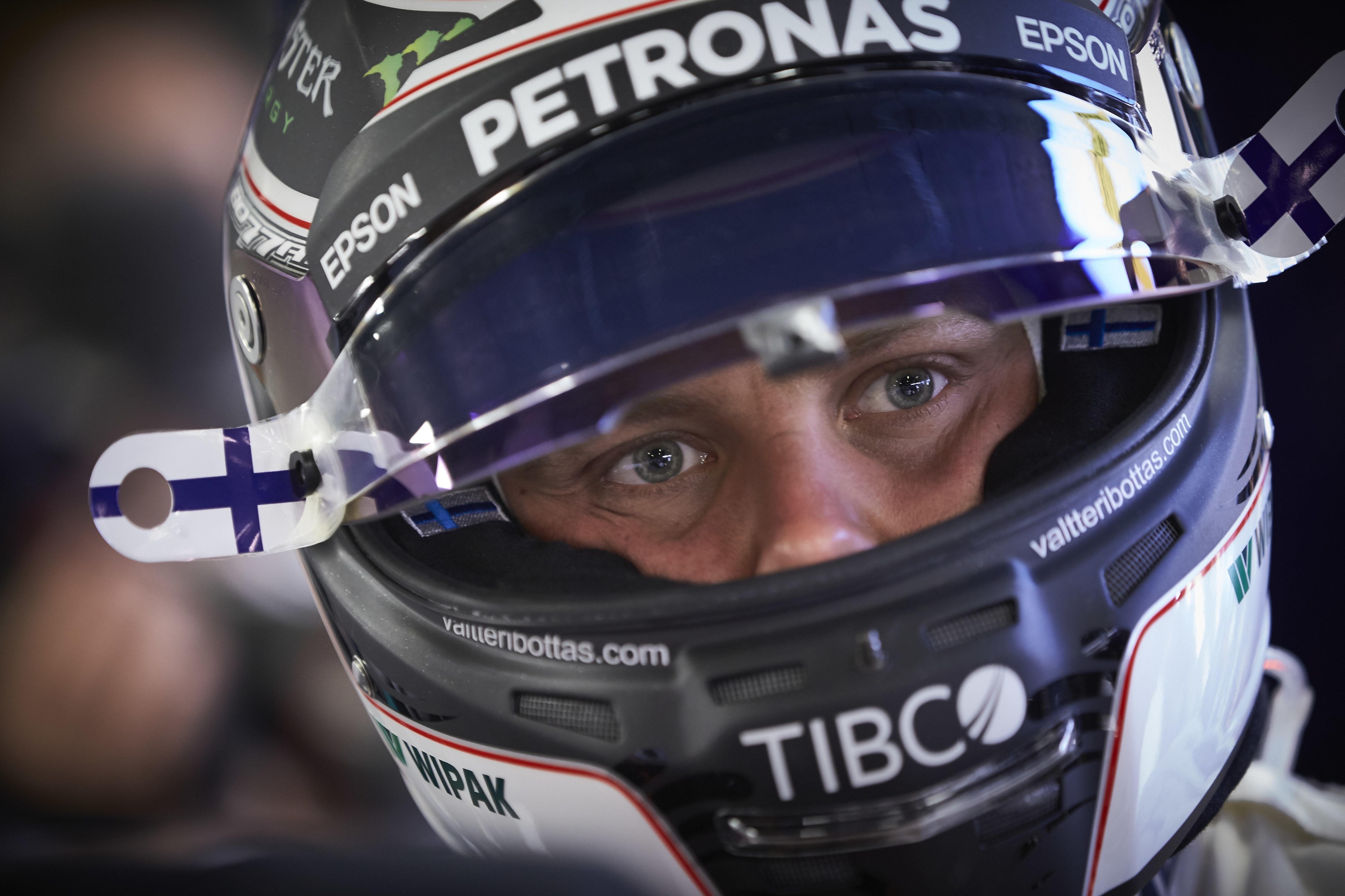 Valtteri Bottas (Mercedes) au Grand Prix d'Espagne 2017