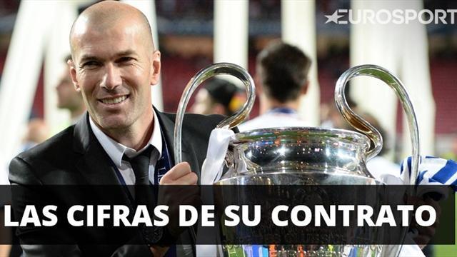 Football Leaks desvela la millonada que ganó Zidane por conquistar la Champions