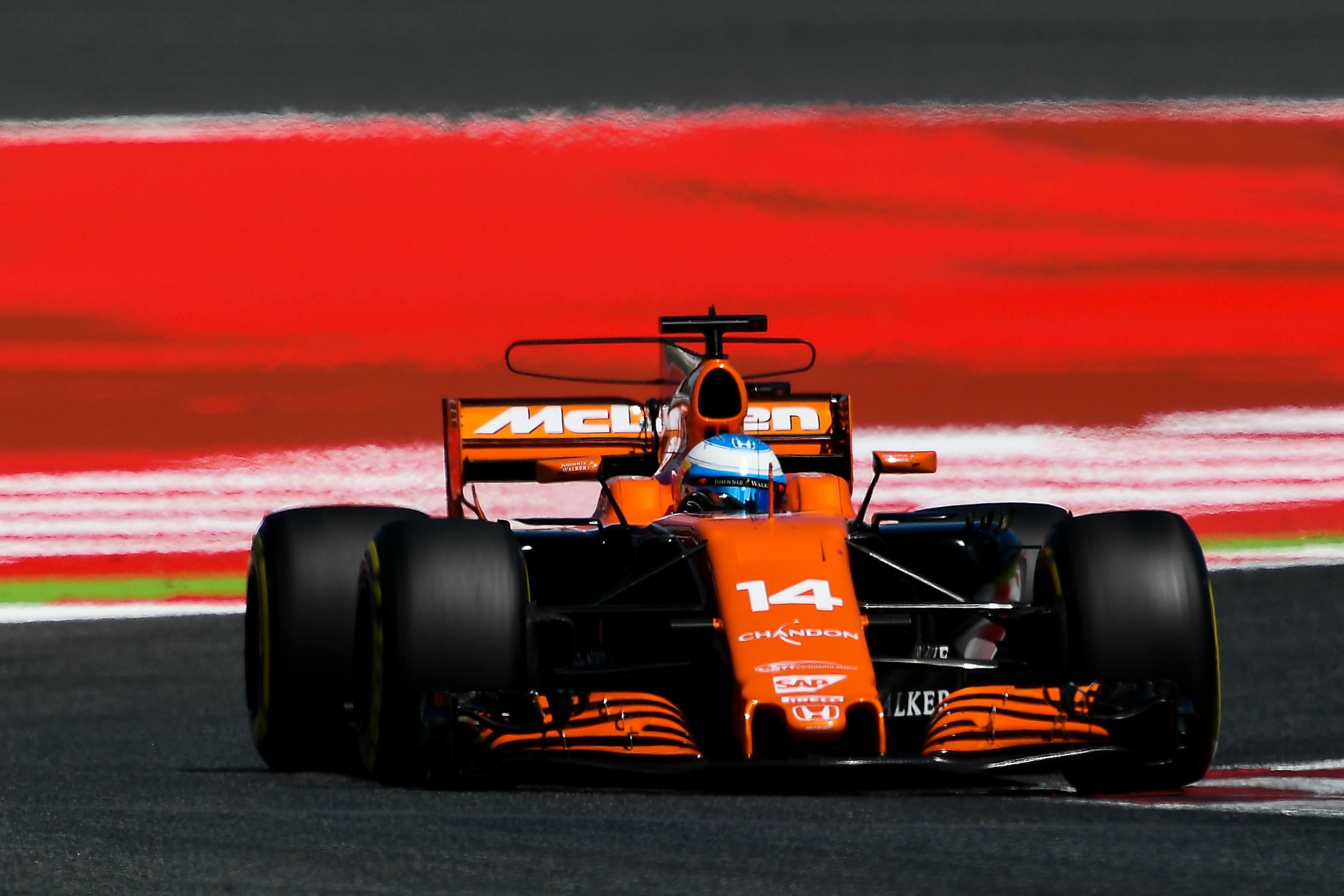 Fernando Alonso (McLaren) au Grand Prix d'Espagne 2017