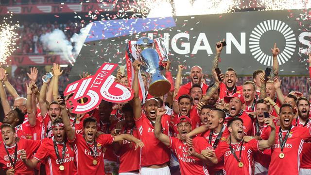 Benfica win fourth successive Portuguese title in style