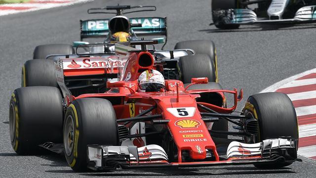 Formel 1: Vettel gewinnt den Start - Räikkönen und Verstappen schon raus