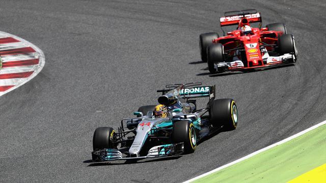 Mercedes-Taktik geht auf: Hamilton gewinnt packendes Duell gegen Vettel