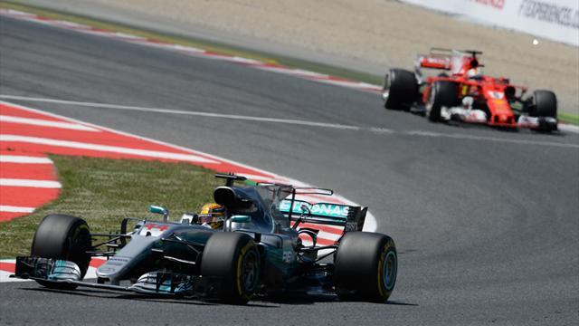 Formel 1: Hamilton gewinnt in Barcelona vor Vettel