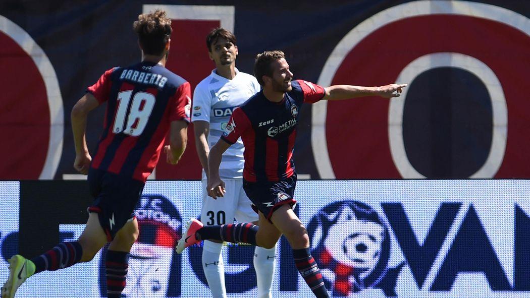 Rohden Decide La Sfida Con Ludinese Crotone Quasi In Paradiso Ora E A  Dallempoli Serie A   Calcio Eurosport