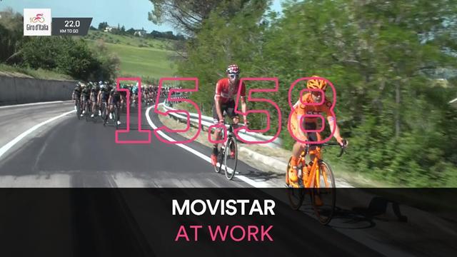 Giro d'Italia 2017: Stage 9 Key Moments