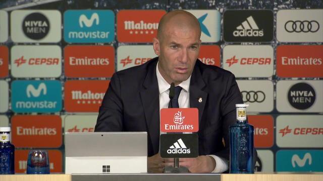"""Zidane : """"Finir le travail, c'est le plus difficile"""""""