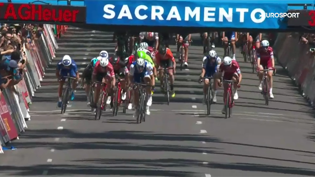 Kittel sprints to Stage 1 victory in Tour of California