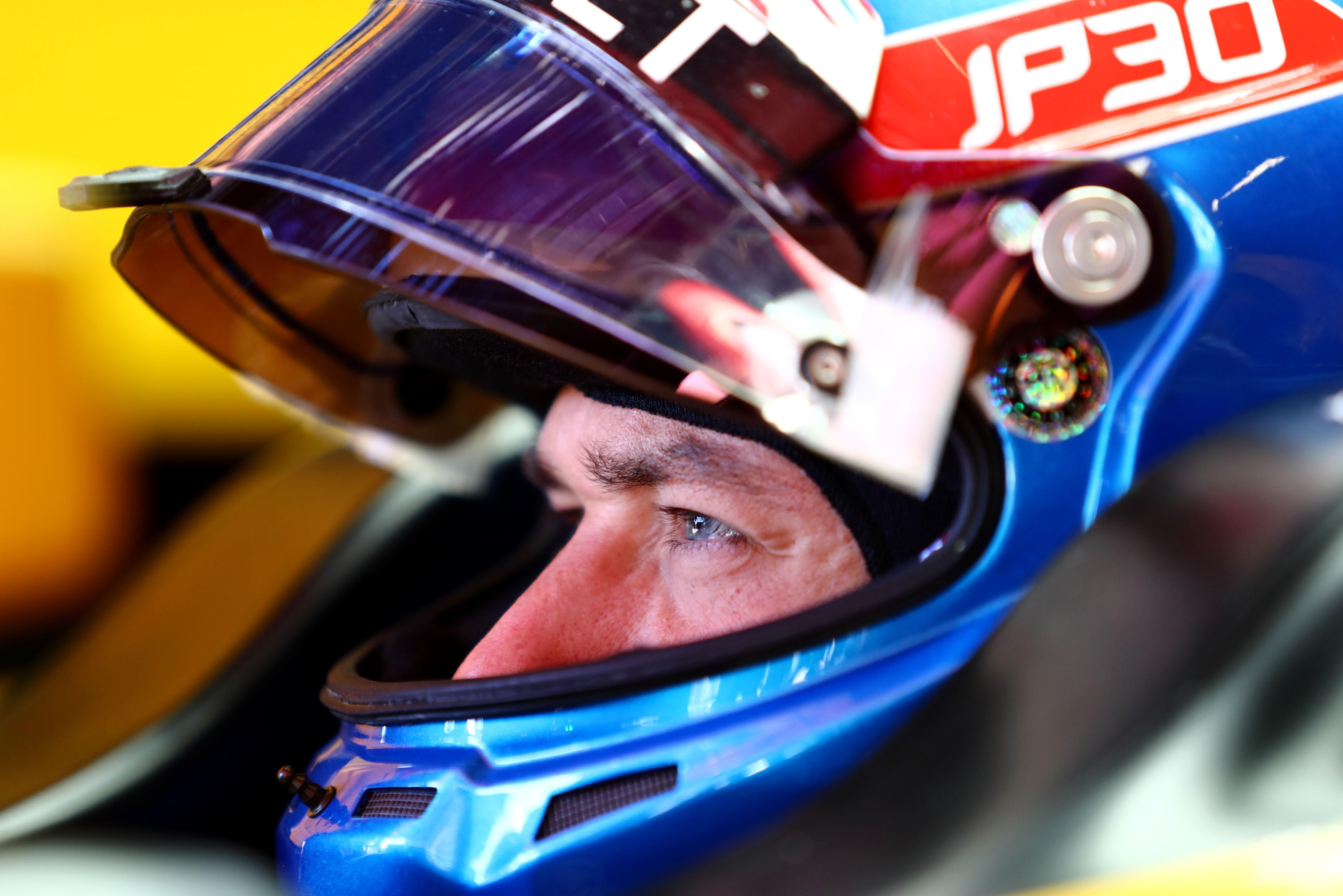 Jolyon Palmer (Renault) au Grand Prix d'Espagne 2017