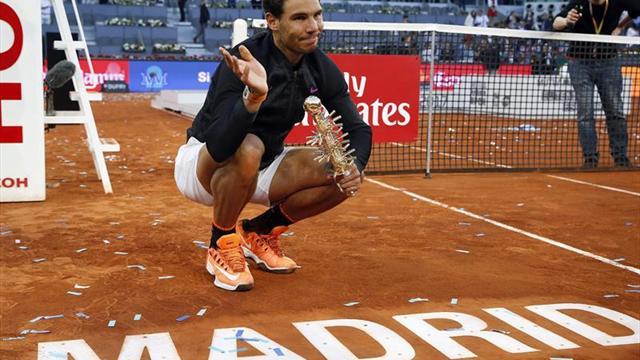 Rafael Nadal imparable en arcilla