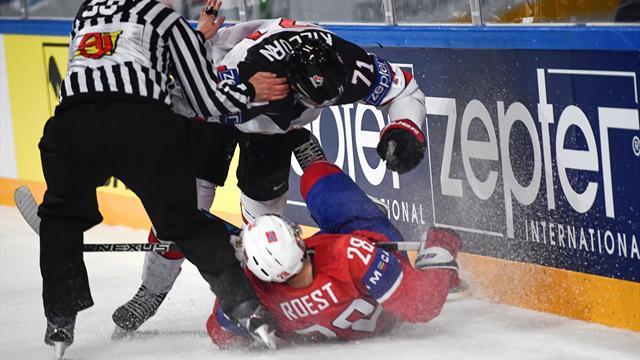 Norges kvartfinaledrøm knust etter juling fra Canada: – Vi blir spilt ut etter alle kunstens regler