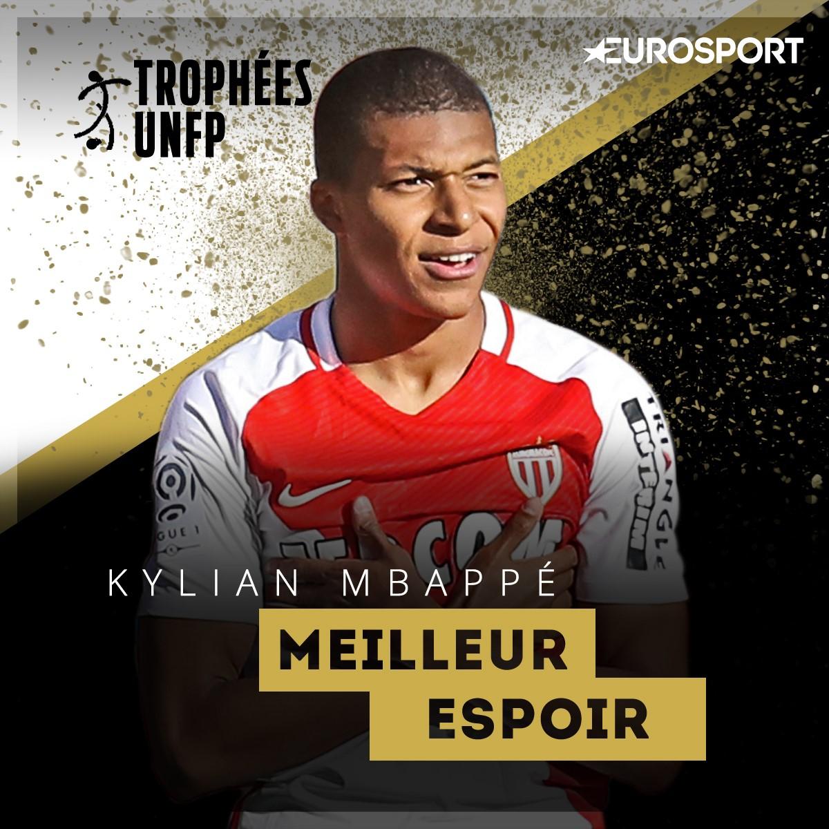 Kylian Mbappé meilleur espoir de Ligue 1