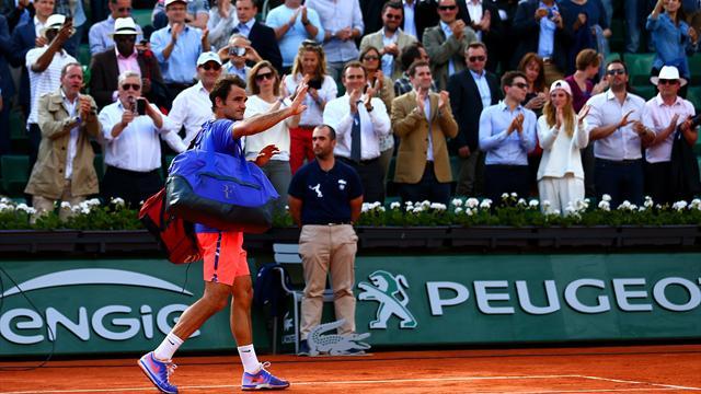Federer : «Je rêve de revenir à Roland-Garros»