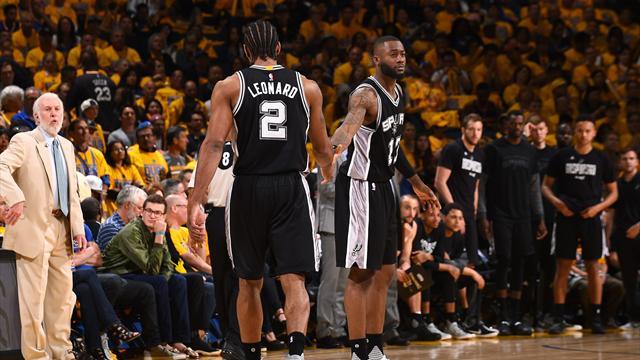 Les Spurs devront encore faire sans Leonard lors du match 3