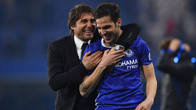 Fabregas attitude changed my mind, says Conte