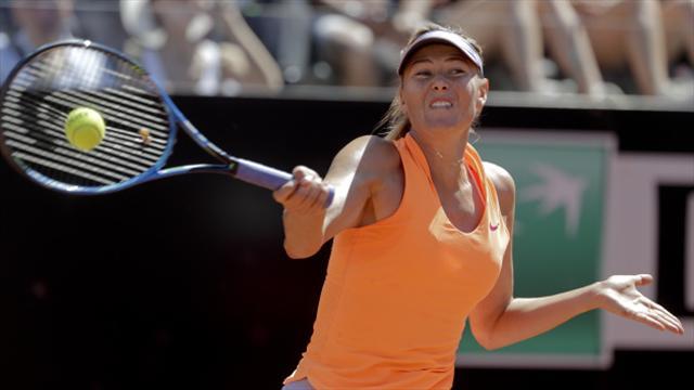 Sharapova seals Wimbledon qualifying spot as Venus also wins through in Rome