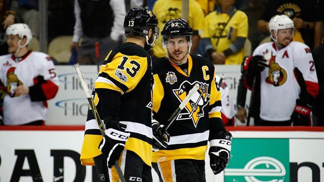 Avec une victoire étriquée, Pittsburgh égalise face à Ottawa