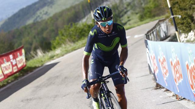Movistarprepared to give all for Quintana's Giro quest