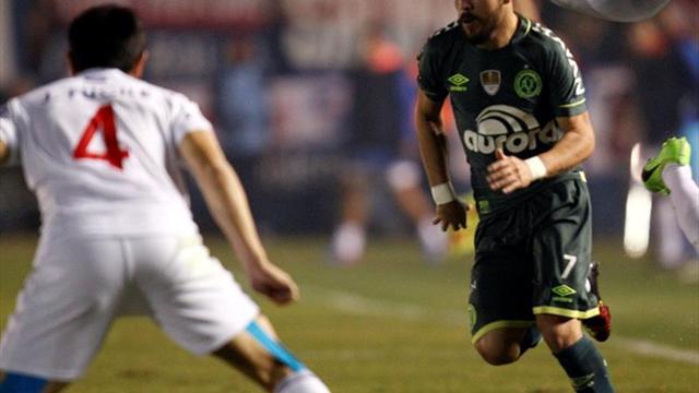 Resumen y goles del partido por la Copa Libertadores — Lanus vs Chapecoense