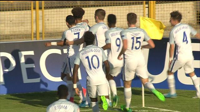 VIDEO: Jadon Sancho finish secures England's place in U17 final