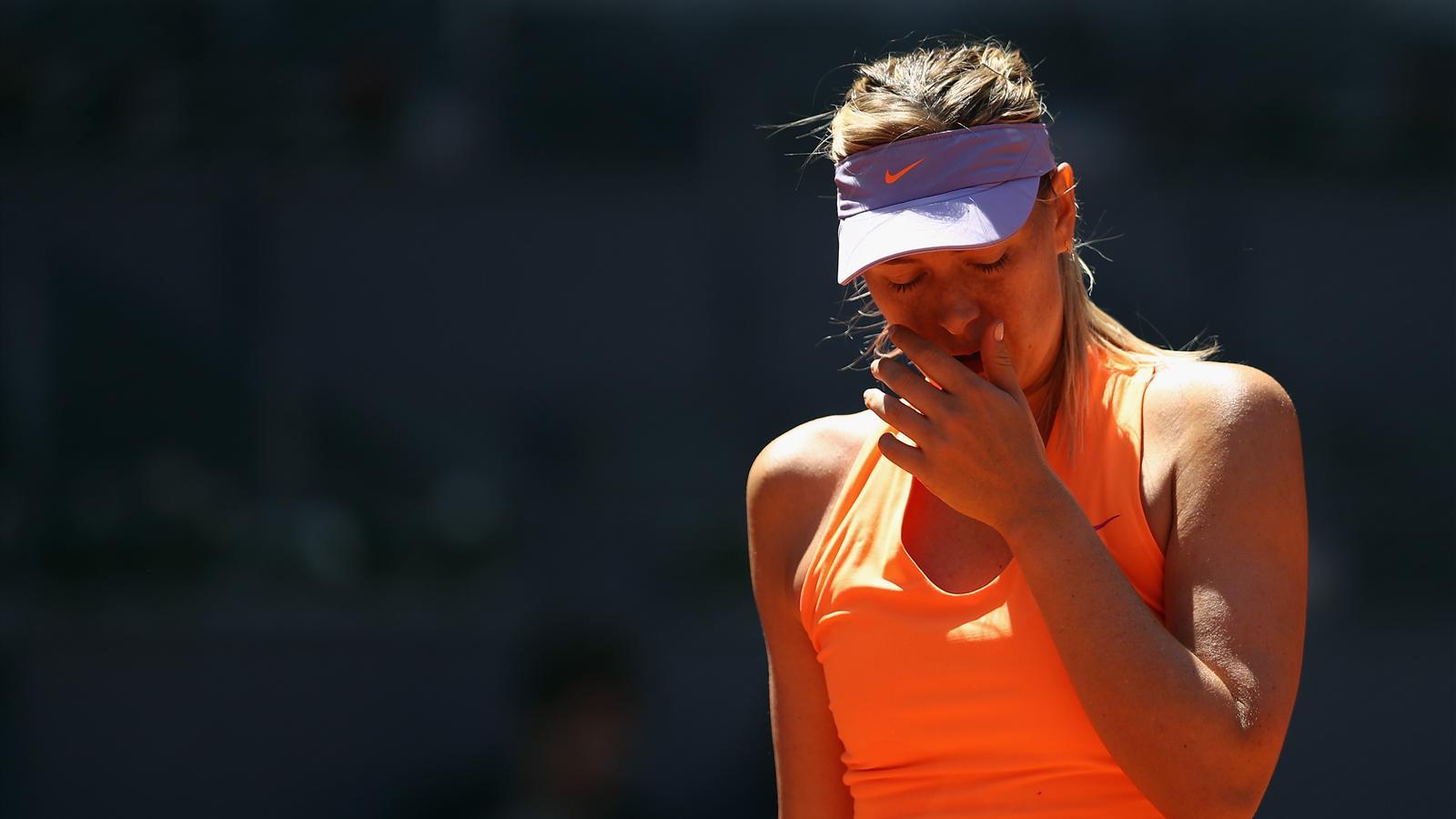 La suspension de Sharapova a
