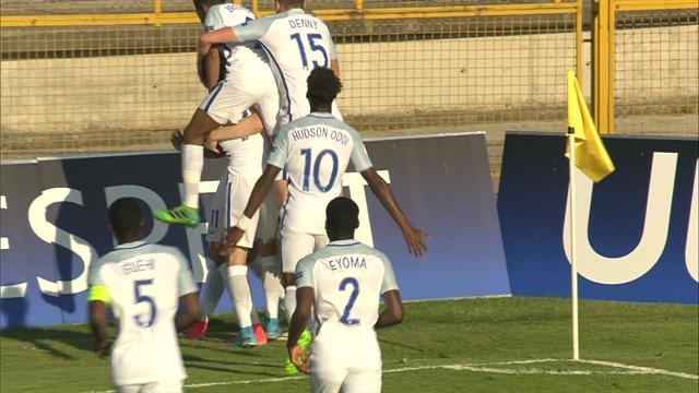 England down Turkey to make final