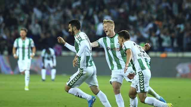 Atiker Konyaspor, kupada ilk kez finalde